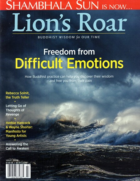 Lion's Roar Cover - 7/1/2016