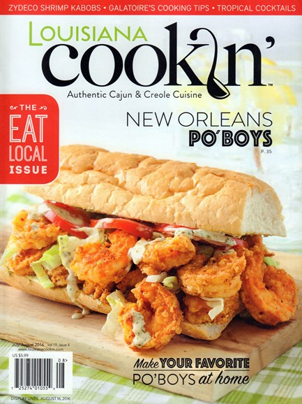 Louisiana Cookin' Cover - 7/1/2016
