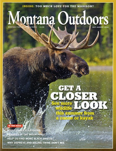 Montana Outdoors Cover - 7/1/2016