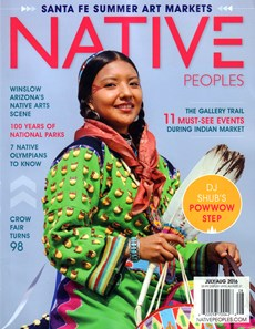 Native Peoples   7/2016 Cover