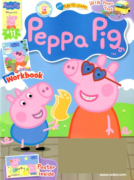 Peppa Pig Cover - 7/1/2016