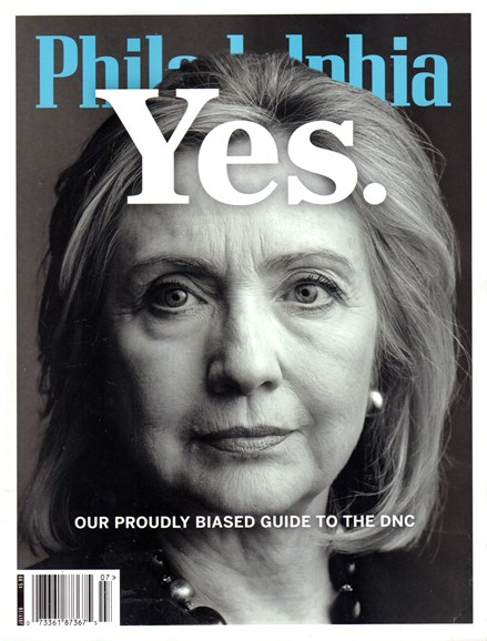 Philadelphia Magazine Cover - 7/1/2016