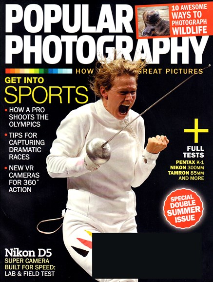 Popular Photography Cover - 7/1/2016