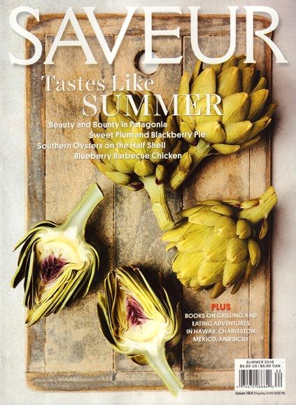 Saveur Cover - 7/1/2016