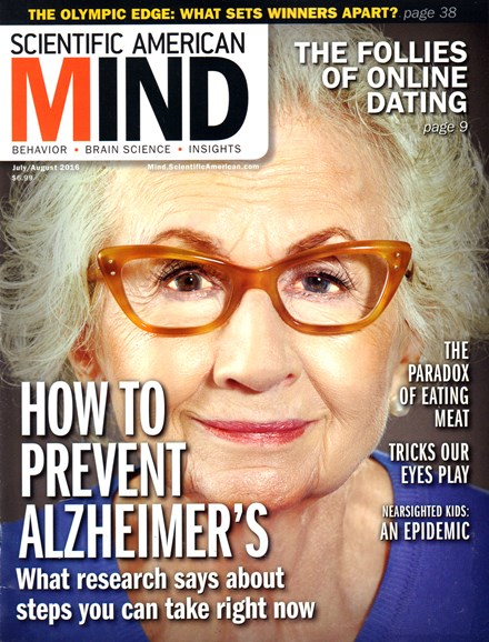 Scientific American Mind Cover - 7/1/2016