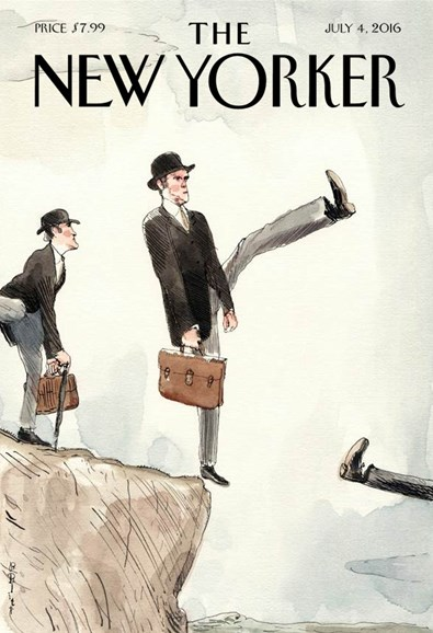 The New Yorker Cover - 7/4/2016