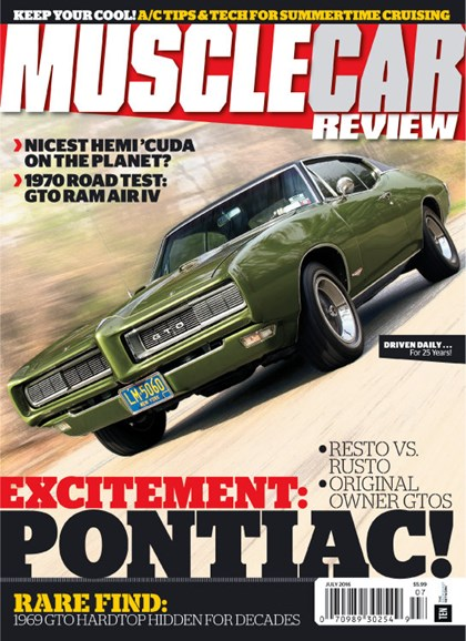 Muscle Car Review Cover - 7/1/2016