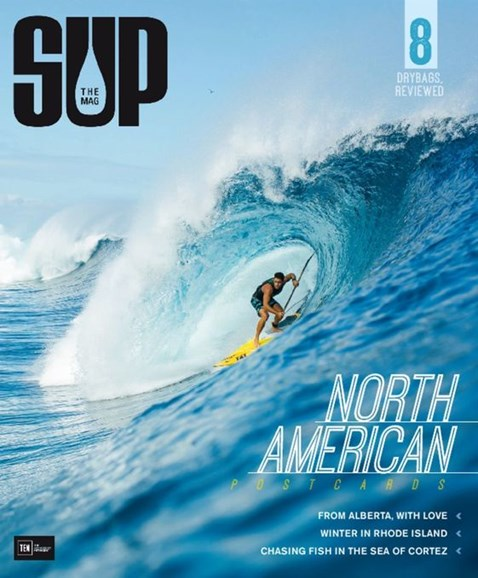 SUP Magazine Cover - 12/1/2015