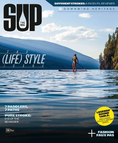 SUP Magazine Cover - 6/1/2016