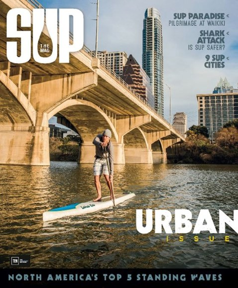 SUP Magazine Cover - 3/1/2016