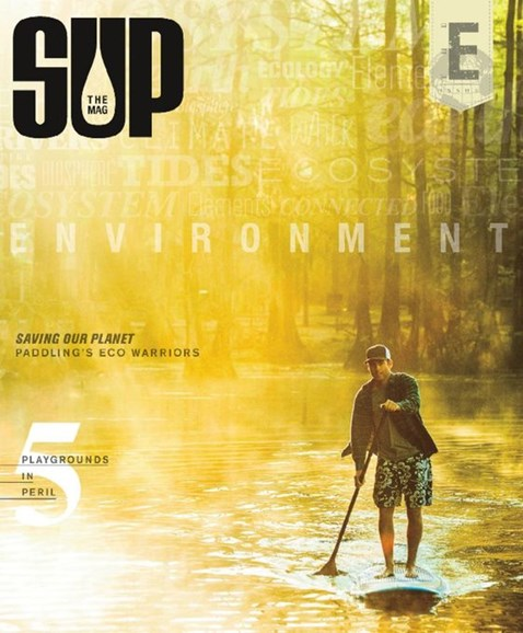 SUP Magazine Cover - 3/1/2015