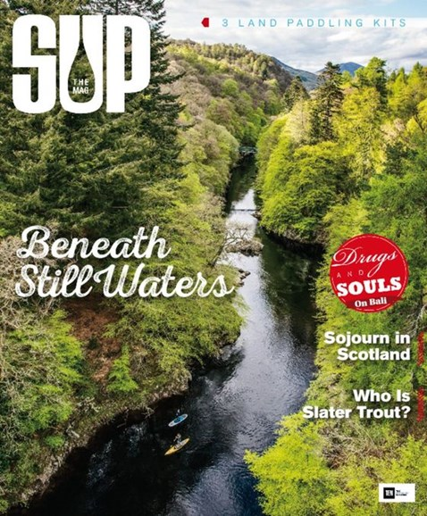 SUP Magazine Cover - 9/1/2015