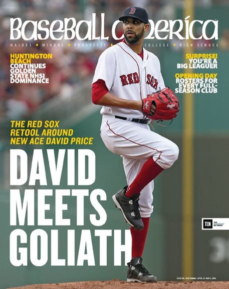 Baseball America Cover - 4/22/2016