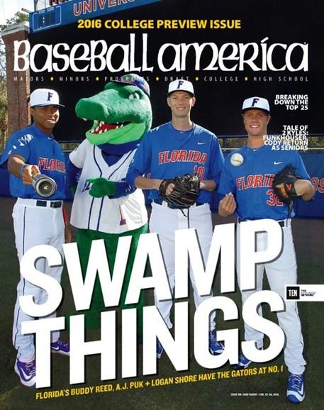 Baseball America Cover - 2/12/2016