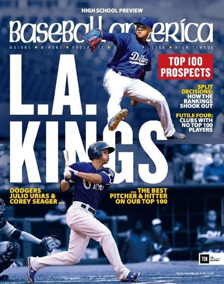 Baseball America Cover - 2/26/2016
