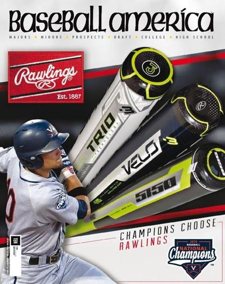 Baseball America Cover - 1/1/2016