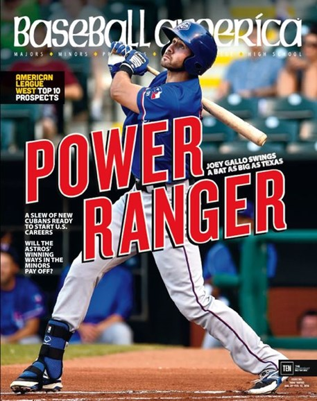 Baseball America Cover - 1/29/2016