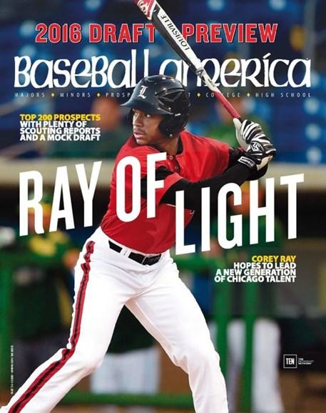 Baseball America Cover - 6/3/2016