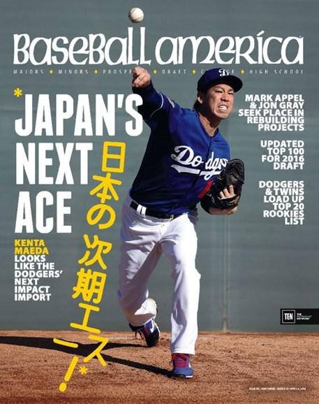 Baseball America Cover - 3/25/2016