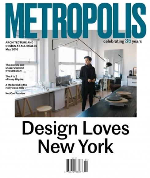 Metropolis Cover - 5/1/2016
