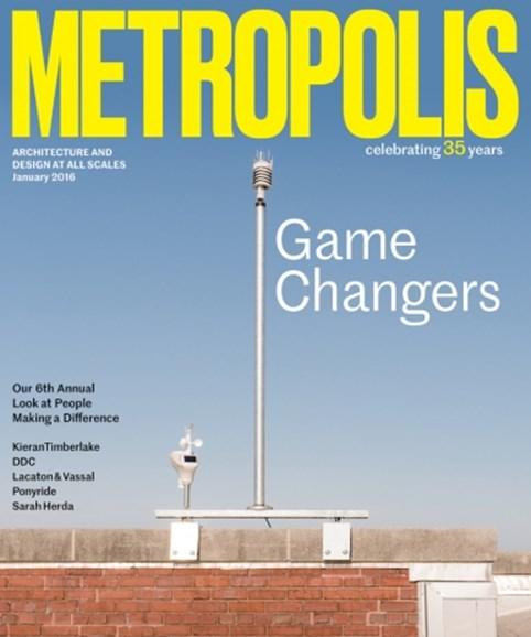 Metropolis Cover - 1/1/2016