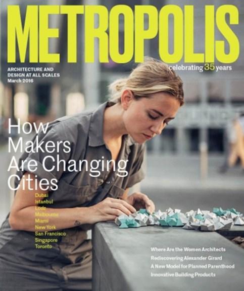 Metropolis Cover - 3/1/2016