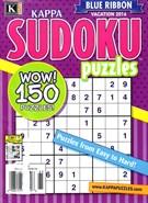 Blue Ribbon Kappa Sudoku Puzzles Magazine 8/1/2016