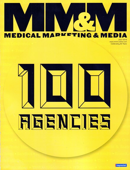 Medical Marketing & Media Cover - 7/1/2016