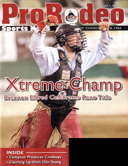 Pro Rodeo Sports News Cover - 7/1/2016