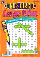 Find and Circle Large Print Magazine 10/1/2016