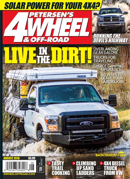 4 Wheel & Off-Road Cover - 8/1/2016
