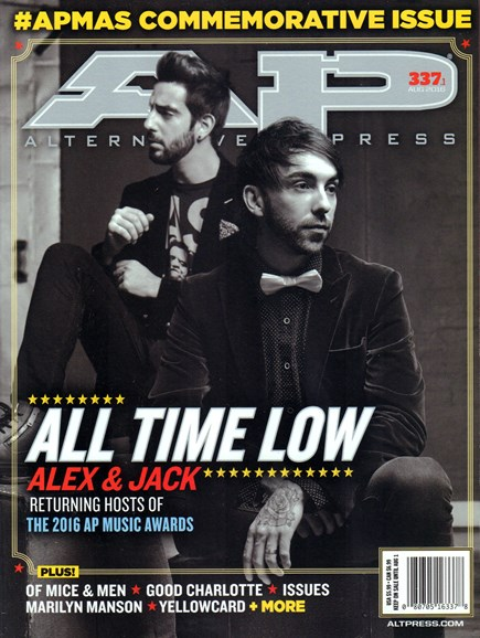 Alternative Press Cover - 8/1/2016