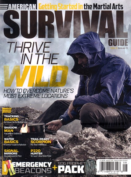 American Survival Guide Cover - 8/1/2016