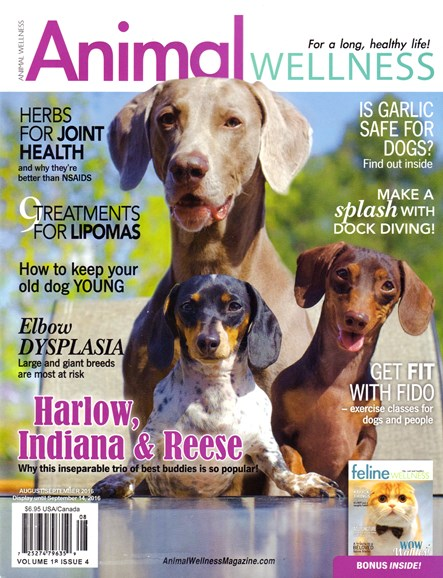 Animal Wellness Cover - 8/1/2016