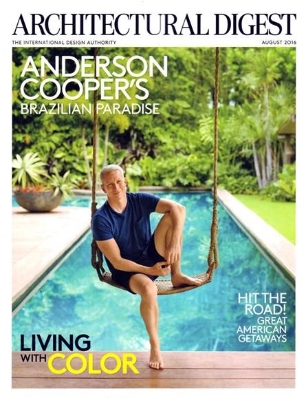 Architectural Digest Cover - 8/1/2016