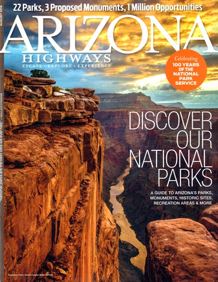 Arizona Highways Cover - 8/1/2016