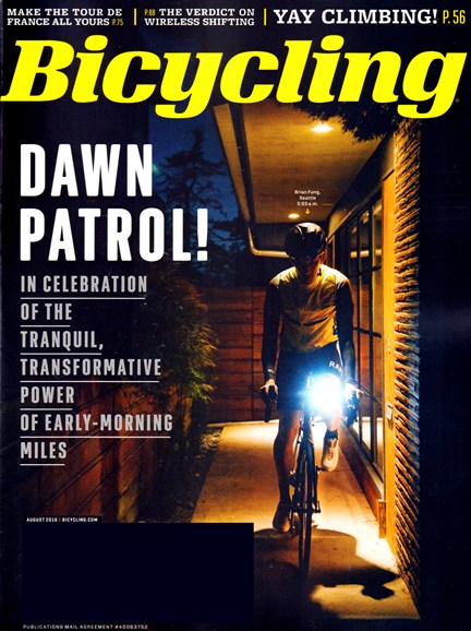 Bicycling Cover - 8/1/2016