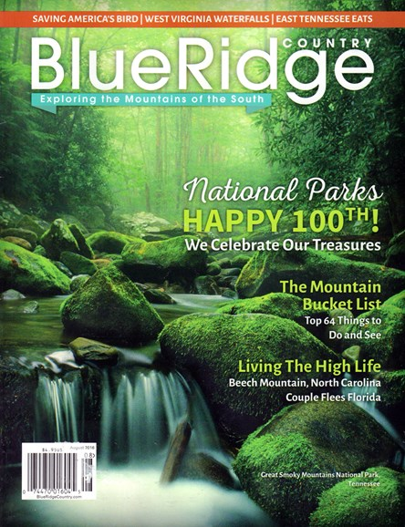Blue Ridge Country Cover - 8/1/2016