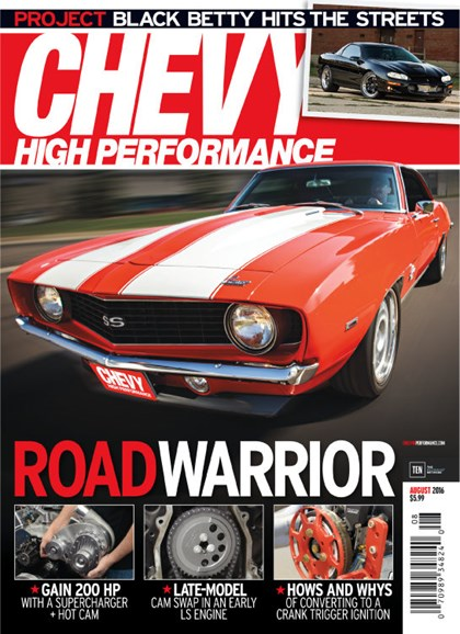 Chevy High Performance Cover - 8/1/2016