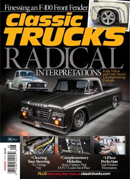 Classic Trucks Cover - 8/1/2016