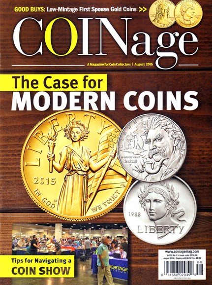 Coinage Cover - 8/1/2016