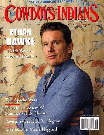 Cowboys & Indians Cover - 8/1/2016
