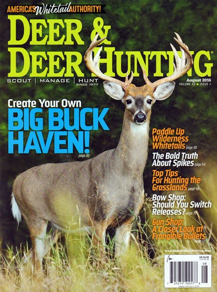Deer & Deer Hunting Cover - 8/1/2016