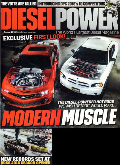 Diesel Power Cover - 8/1/2016