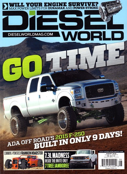 Diesel World Cover - 8/1/2016