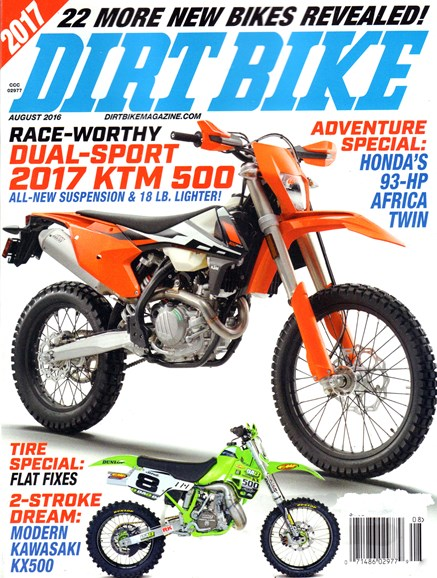 Dirt Bike Cover - 8/1/2016