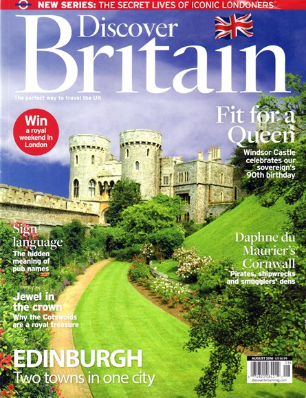 Discover Britain Cover - 8/1/2016