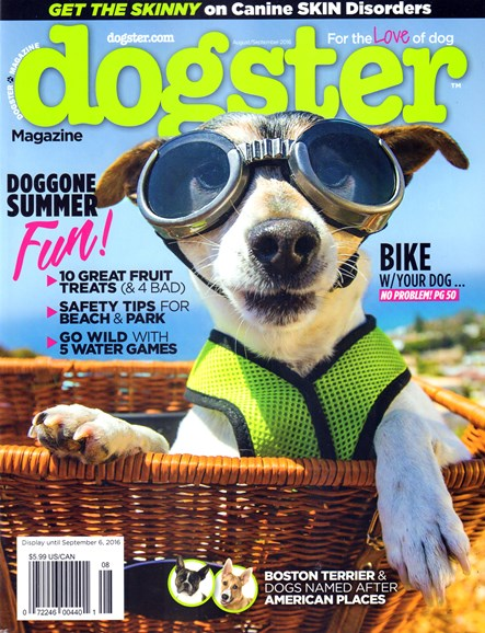 Dogster Cover - 8/1/2016