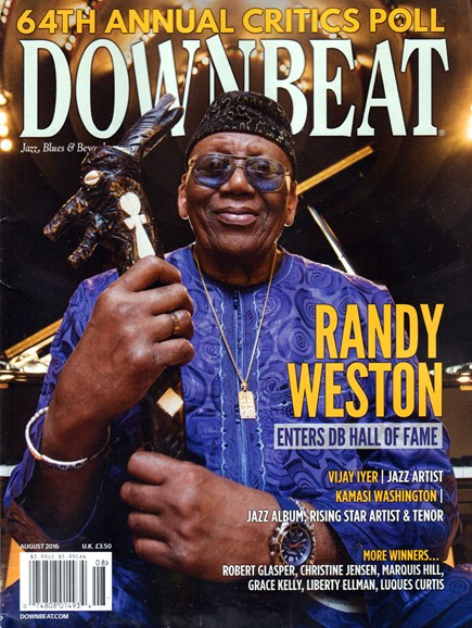 DownBeat Cover - 8/1/2016