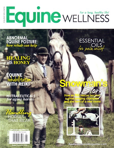 Equine Wellness Cover - 8/1/2016